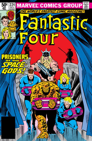 Fantastic Four Vol 1 224