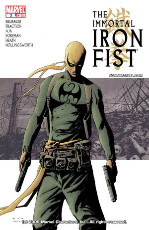 Immortal Iron Fist Vol 1 3