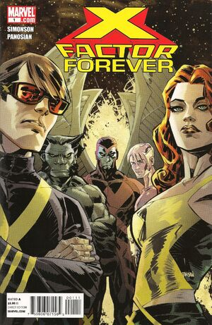 X-Factor Forever Vol 1 1