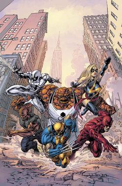 New Avengers Vol 2 17 Textless