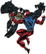 Edward Brock and Ben Reilly (Earth-616) from Web of Spider-Man Vol 1 119 0001