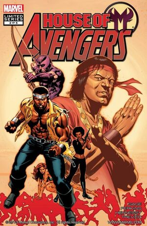 House of M Avengers Vol 1 2