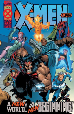 X-Men Alpha Vol 1 1