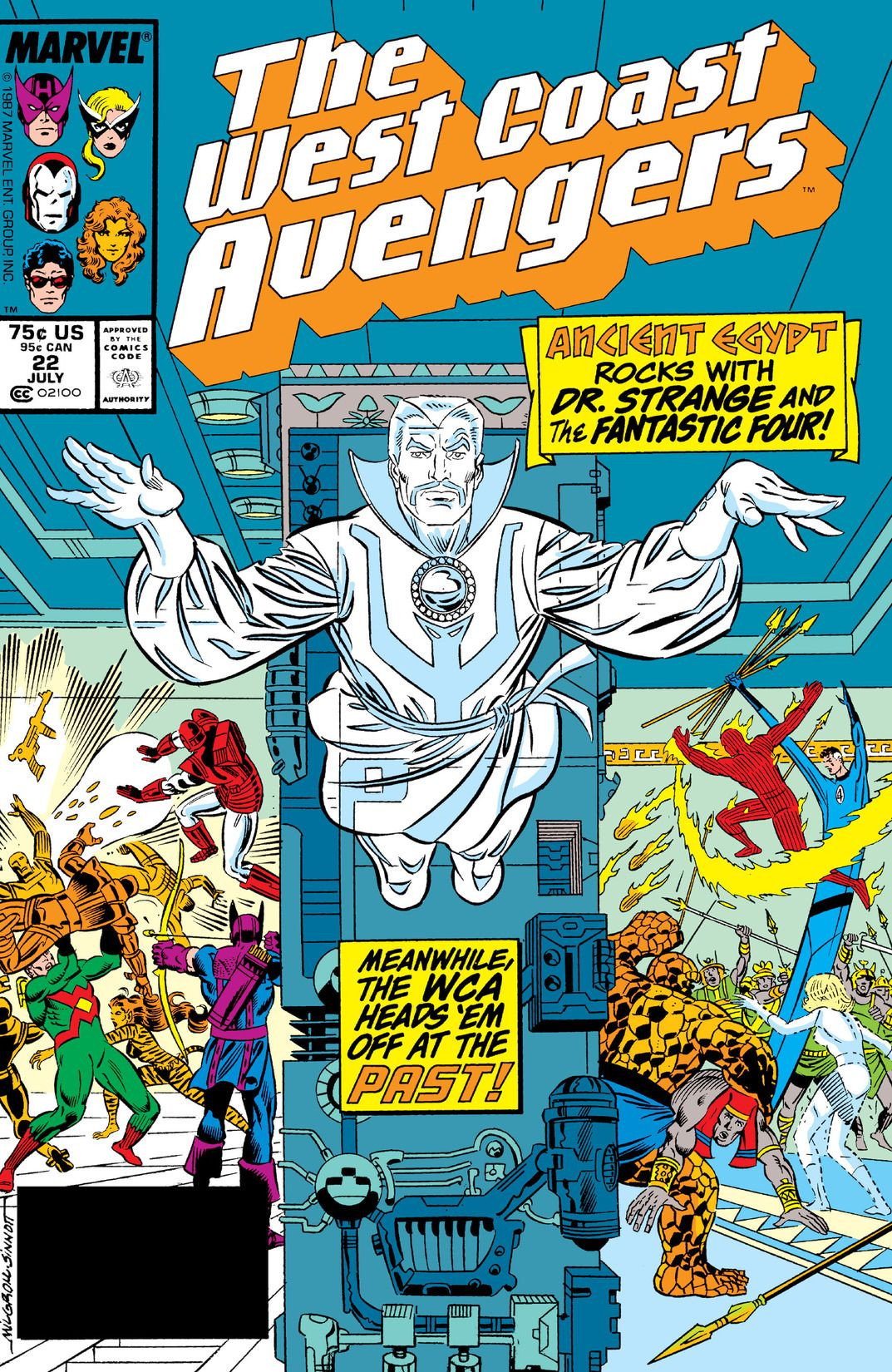 West Coast Avengers Volume 2 #22