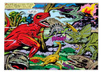 Dinosaurs (Earth-74811) from Devil Dinoaur Vol 1 1 0001