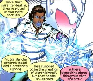 Victor Mancha (Earth-616) 002