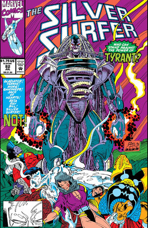 Silver Surfer Vol 3 82