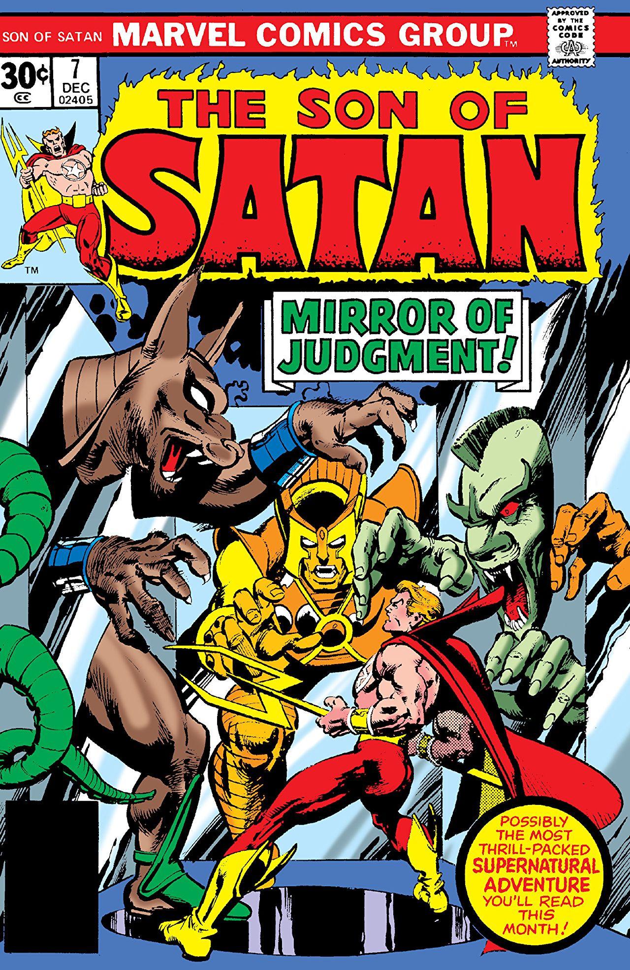 Son Of Satan Vol 1 7 Marvel Database Fandom Powered By