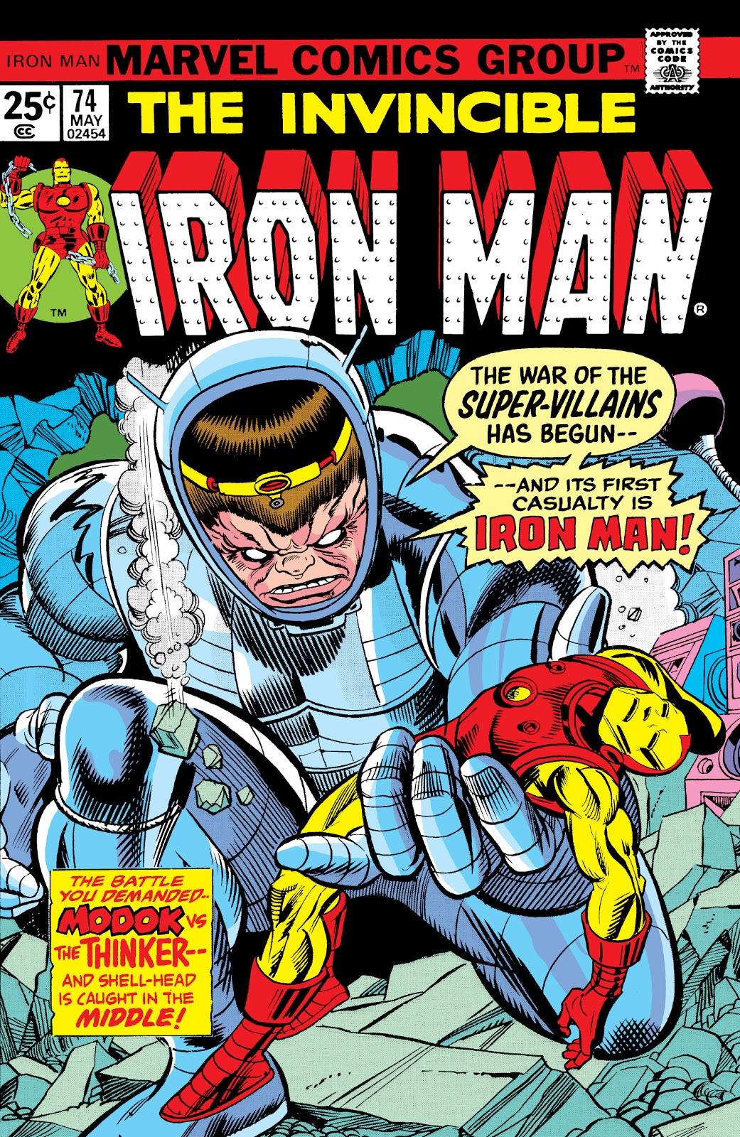 Iron man vol 1 74 marvel database fandom powered by wikia - Iron man 1 images ...