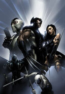 Uncanny X-Force Vol 1 1 Textless Crain Variant
