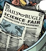 Daily Bugle (Earth-TRN567) from Amazing Spider-Man & Silk- The Spider(fly) Effect Infinite Comic Vol 1 4 001