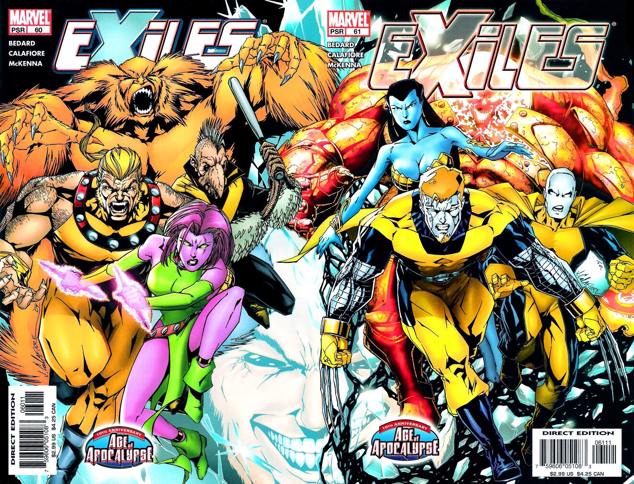 Exiles Vol 1 61 - Marvel Datab...