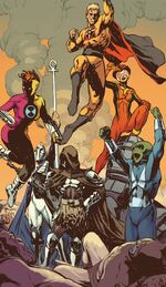 Great Society (Earth-4290001) from New Avengers Vol 3 16.NOW 001