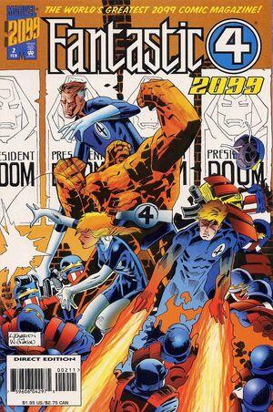 Fantastic Four 2099 Vol 1 2