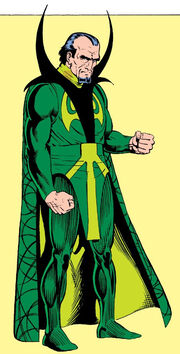 Karl Mordo (Earth-616) from Official Handbook of the Marvel Universe Vol 1 2 0001