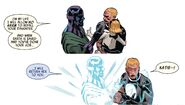 Alexander Summers (Earth-13133), Katherine Summers (Earth-13133) and Nathaniel Richards (Kang) (Earth-6311) from Uncanny Avengers Vol 1 19 001