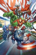 Avengers Assemble Vol 2 1 Silvestri Variant Textless