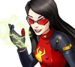 Jessica Drew (Earth-TRN562) from Marvel Avengers Academy 002