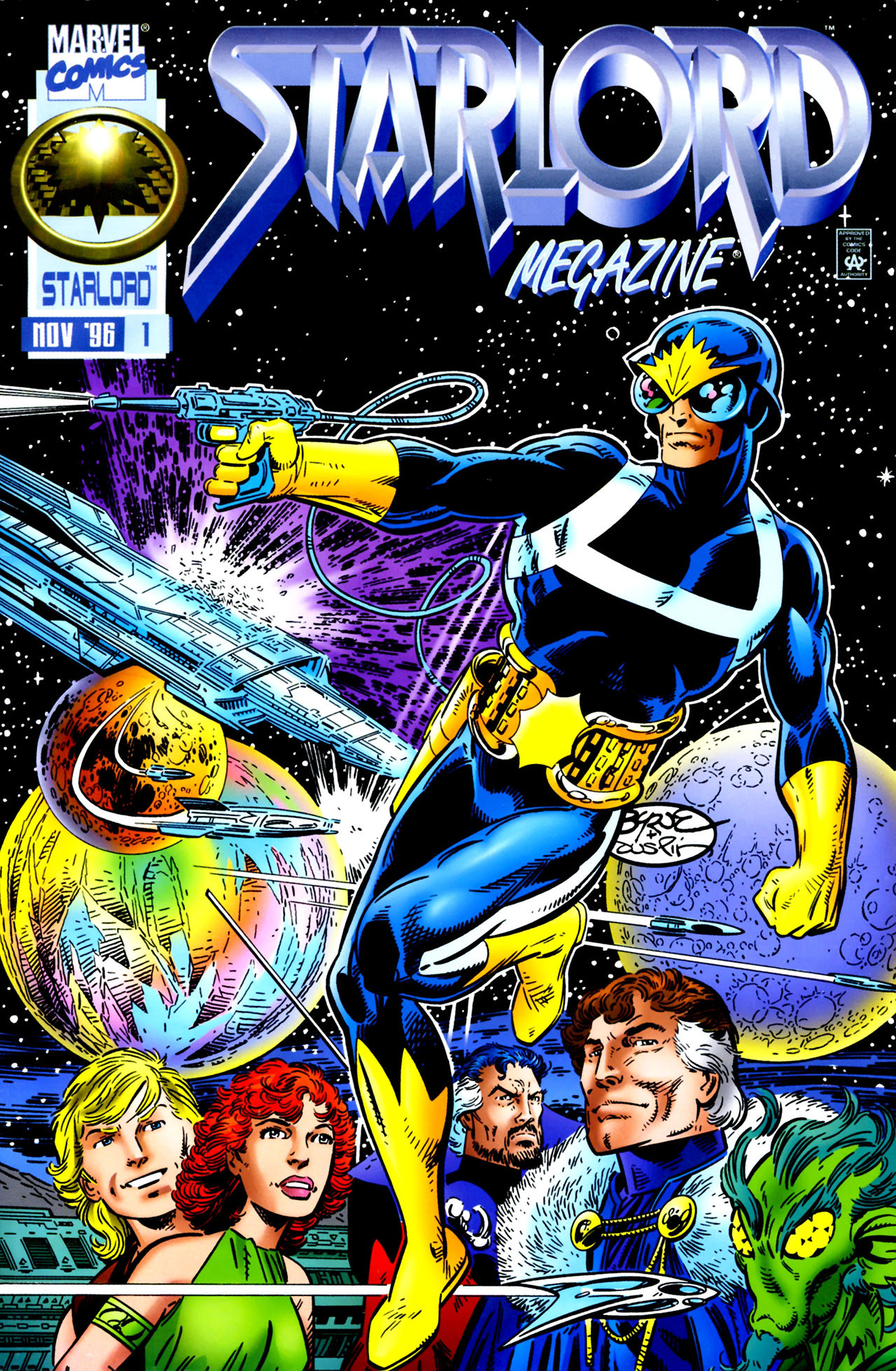Starlord Megazine Vol 1 1 | Marvel Database | FANDOM ...