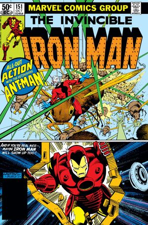 Iron Man Vol 1 151