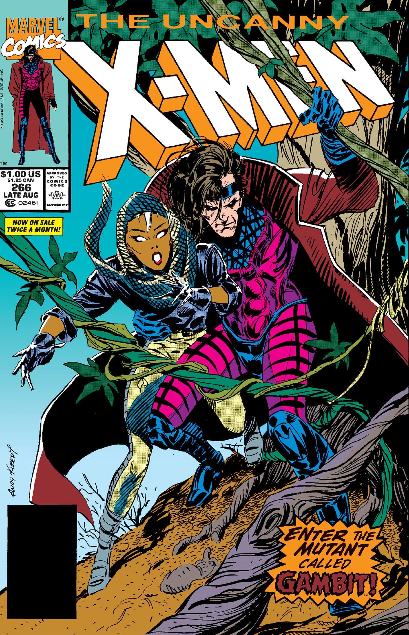 Uncanny X-Men#266 ile ilgili görsel sonucu