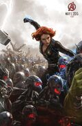 Avengers Age of Ultron concept art poster 003