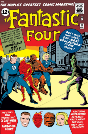 Fantastic Four Vol 1 11