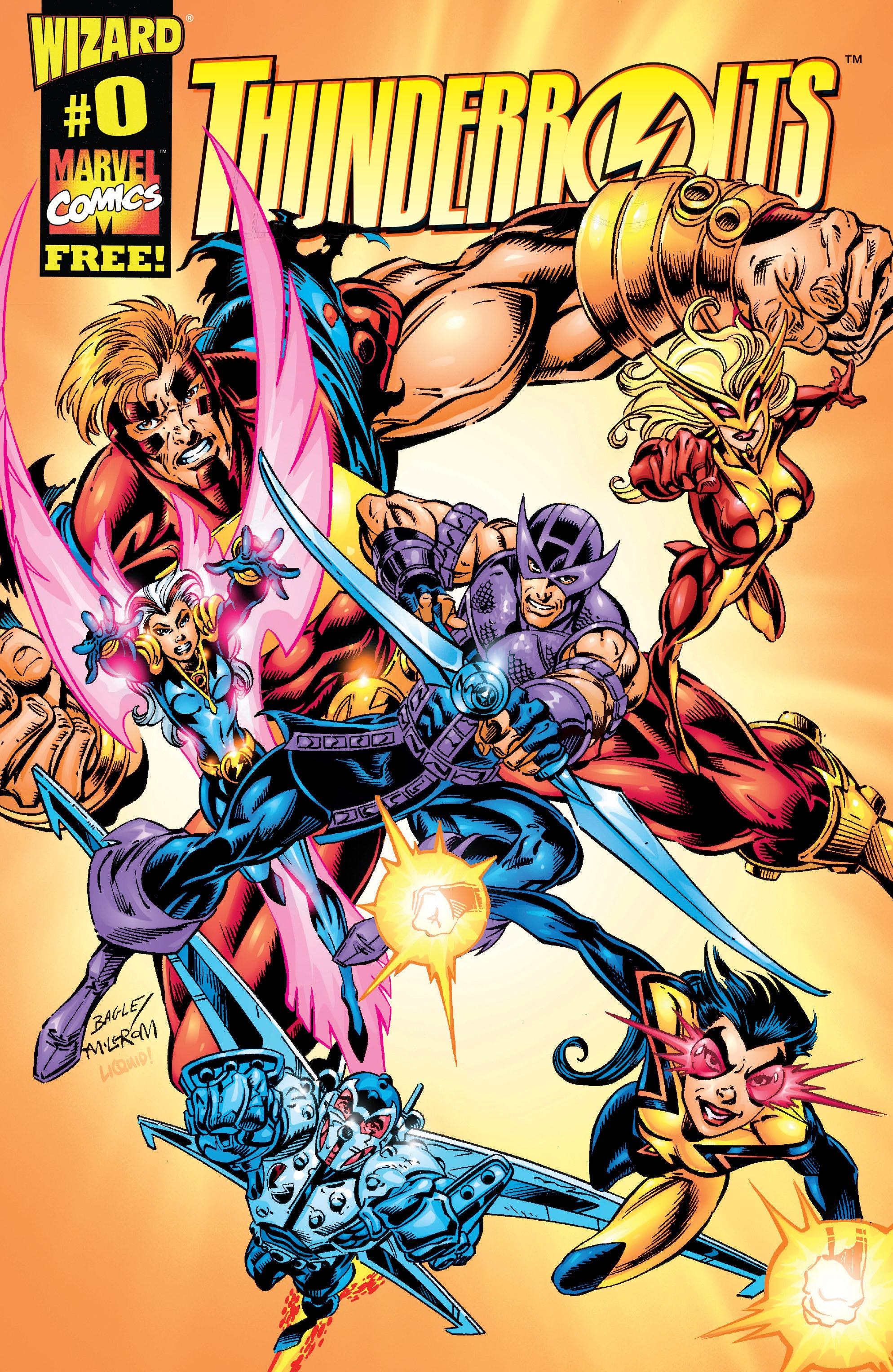 Thunderbolts (Team) - Comic Vine
