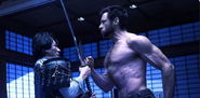 Shingen Yashida (Earth-10005) and James Howlett (Earth-10005) from The Wolverine (film) 0001