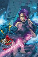 X-Treme X-Men Vol 1 2 Variant Psylocke Textless