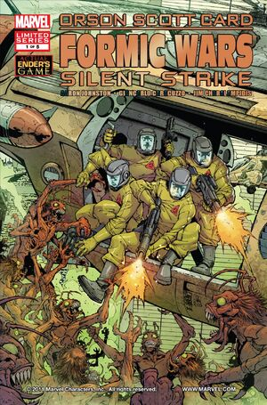 Formic Wars Silent Strike Vol 1 1