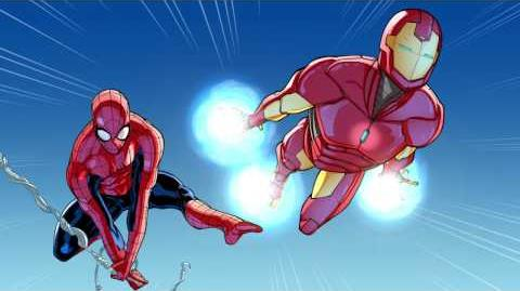 Spider-Man & Iron Man In... Training Day, Part 1 Marvel Video Comics Disney XD