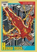 Jonathan Storm (Earth-616) from Marvel Universe Cards Series II 0001