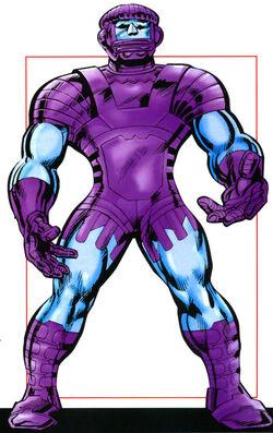 Kree Sentries from Official Handbook of the Marvel Universe A-Z Update Vol 1 5 0001