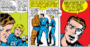 Reed Richards musters the courage to propose to Sue from Fantastic Four Vol 1 27
