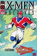 X-Men Archives Featuring Captain Britain Vol 1 1