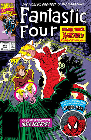 Fantastic Four Vol 1 342