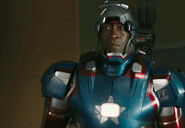 James Rhodes (Earth-199999) as Iron Patriot 003