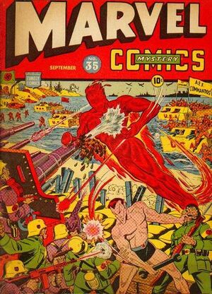 Marvel Mystery Comics Vol 1 35
