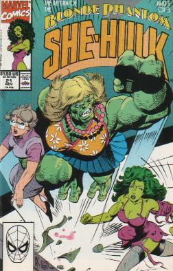 Sensational She-Hulk Vol 1 21
