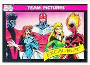 Excalibur (Earth-616) from Marvel Universe Cards Series I 0001