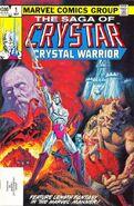Saga of Crystar, Crystal Warrior Vol 1 1