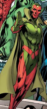 Vision (Earth-15061) from Uncanny Avengers Ultron Forever Vol 1 1 001