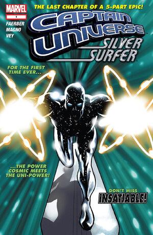 Captain Universe Silver Surfer Vol 1 1
