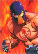 Bane Simpson (Earth-9602) from Amalgam Comics (Trading Cards) 0001