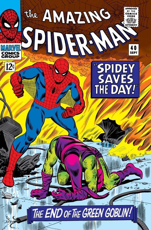 Amazing Spider Man Vol 1 40 Marvel Database Fandom