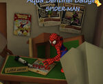 Spider-Man at J J Jameson's Office