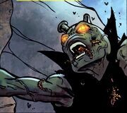 Infant Terrible infested by the Annihilation Wave in Annihilation Vol 1 2
