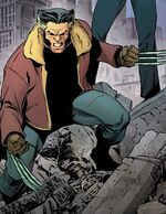 James Howlett (Earth-25158) from Years of Future Past Vol 1 1 001