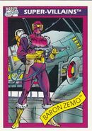 Helmut Zemo (Earth-616) from Marvel Universe Cards Series I 0001